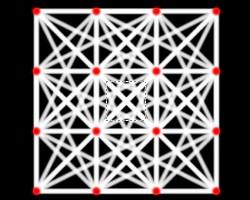 正方形格子線4