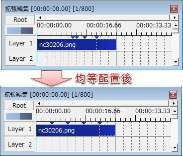 中間点_均等配置
