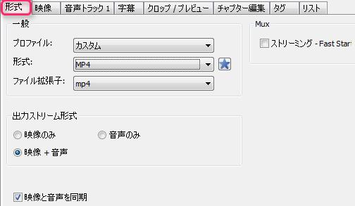 XMedia Recode_形式