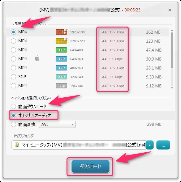 Freemake Video Downloader_使い方5