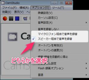 camstudio_音声コーデック