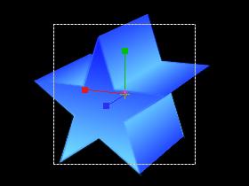 立体図形(星)-カメラ1