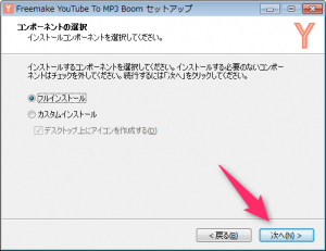 Freemake YouTube to MP3 Boom_インストール6