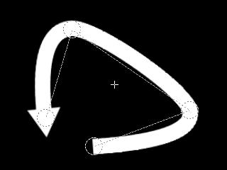 多角形ライン