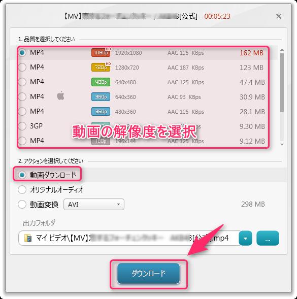 Freemake Video Downloader_使い方2