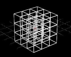 立方体を並べる2