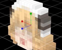 立方体ドット化3