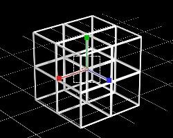 立方体を並べる1
