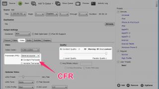 【動画】VFRをCFRに変換する方法【フレームレート】